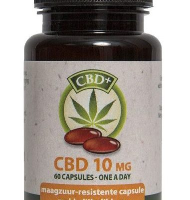 Jacob Hooy CBD Capsules 10mg CBD mhbioshop