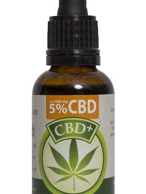 Jacob Hooy CBD Olie 5 procent 30ml mhbioshop 2