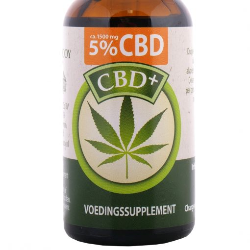 jacob hooy cbd plus 5 procent 30ml -1