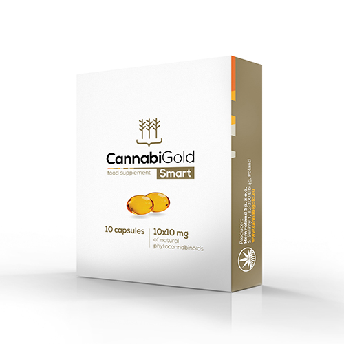 Cannabigold CBD Capsules Smart 10 stuks 10mg