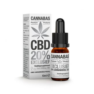 Cannabas CBD Oil Huile the CBD 10ml - 20 percent