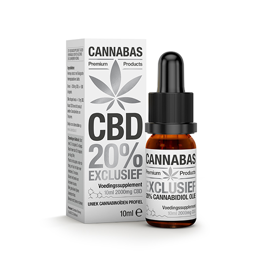 Cannabas CBD Oil The CBD 10ml - 20%