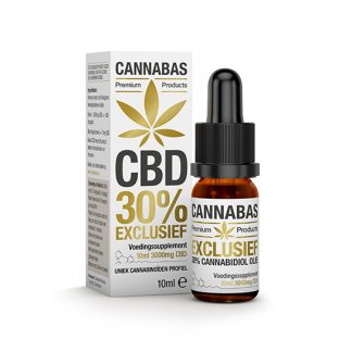 Cannabas CBD Oil Huile the CBD 10ml - 30 percent