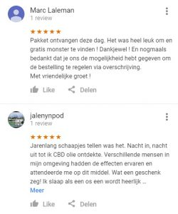 MHBioShop CBD Olie Klantreviews