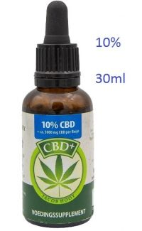 jacob-hooy-cbd-plus-olie-10 procent-30ml