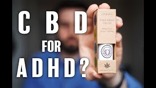 🌿 CBD Oil For ADHD? Let's try it | Unboxing