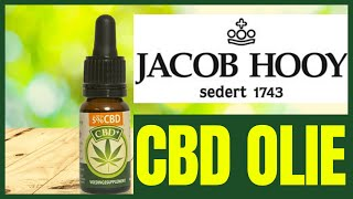 JACOB HOOY CBD OLIE? – Review – Info