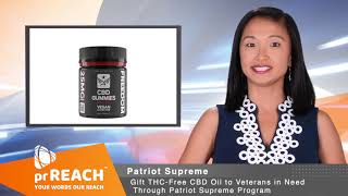 Gift THC Free CBD Oil To Veteran in Need Through Patriot Supreme Program
