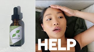 I'm in so much pain … | CBD oil first impressions + Giveaway