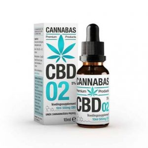 CBD Olie FULL SPECTRUM Cannabas Premium 5% - 10ml
