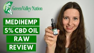 Medihemp 5% CBD OIL RAW Review 😍 CBD Straight from Austria ✔✔