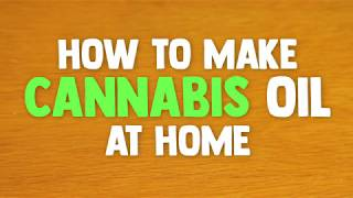 How To Make Cannabis Oil At Home (Dagga Olie)
