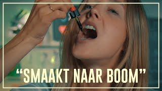 Nellie feels less pain after using cannabis oil | Drugslab