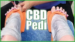 What is a CBD Pedicure? CBD Oil Pedicure Review