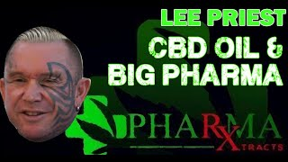 LEE PRIEST and CBD Oil for Pain Relief