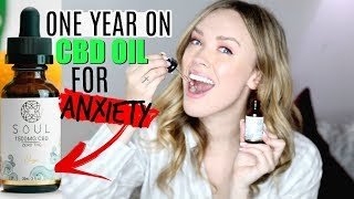 CBD OIL BENEFITS FOR ANXIETY | 1 YEAR Using CBD Every Day! Anxiety & Pain Relief!