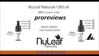 Nuleaf Naturals CBD Oil Review 20% Coupon