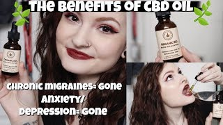 How I said Goodbye to my Anxiety & Depression 👋🏻✨CBD OIL 🌿