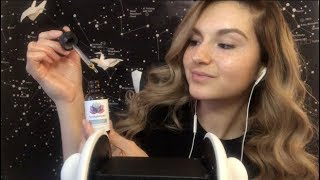 ASMR ~ RELAXING EAR MASSAGE W/ CBD OIL & SUBTLE MOUTH SOUNDS