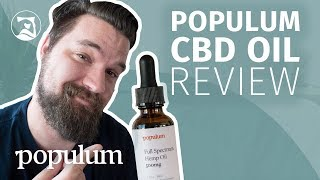 Populum Full-Spectrum Hemp CBD Oil Review – Will It Help You Sleep?