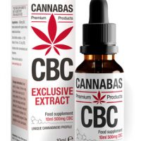 CBC Olie CannaBiChromeen Cannabas 10ml -1 - mhbioshop