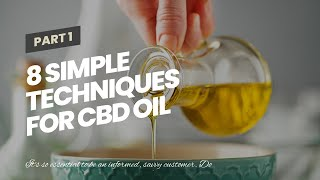 8 Simple Techniques For CBD Oil and Hemp Infused Health Products Williams Medical