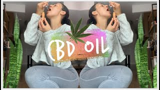 Trying CBD Oil For The First Time To Reduce My Stress & Anxiety