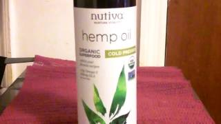 Hemp  Oil  Nutiva Amazon &  Health Benefits   Review