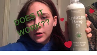 TRYING HEMP OIL CONDITIONER | DOES IT WORK??