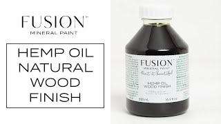 How To Use Hemp Oil For A Natural Wood Finish