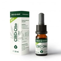 CBD Olie Biologisch Raw Full Spectrum 5% 10ml Medihemp -1