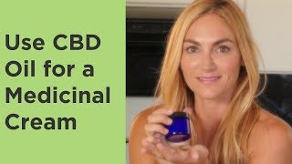 CBD Oil Cream Recipe for Skin and Joint Application