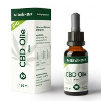 CBD Olie Biologisch Full Spectrum Raw 10% 30ml - MediHemp-1